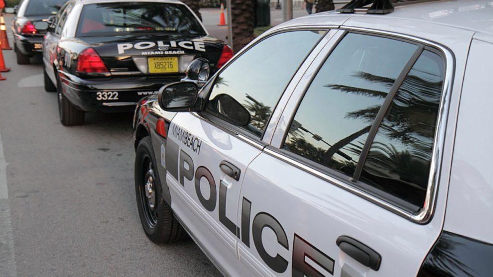 Miami beach bomb threat police