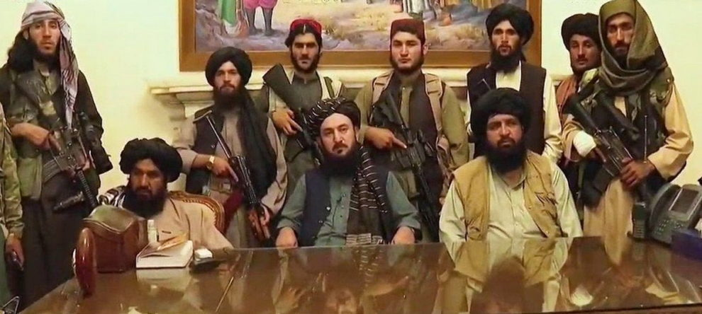 Taliban afghanistan president palace