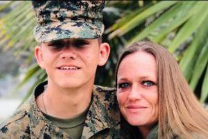 Shana Chappell facebook instagram suspends marine mother