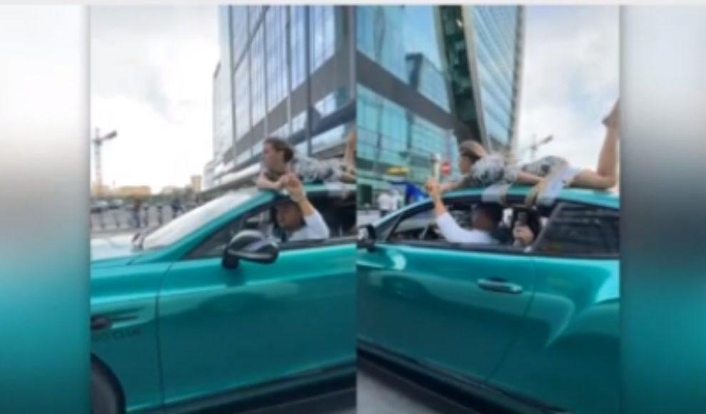 video russian car girlfriend