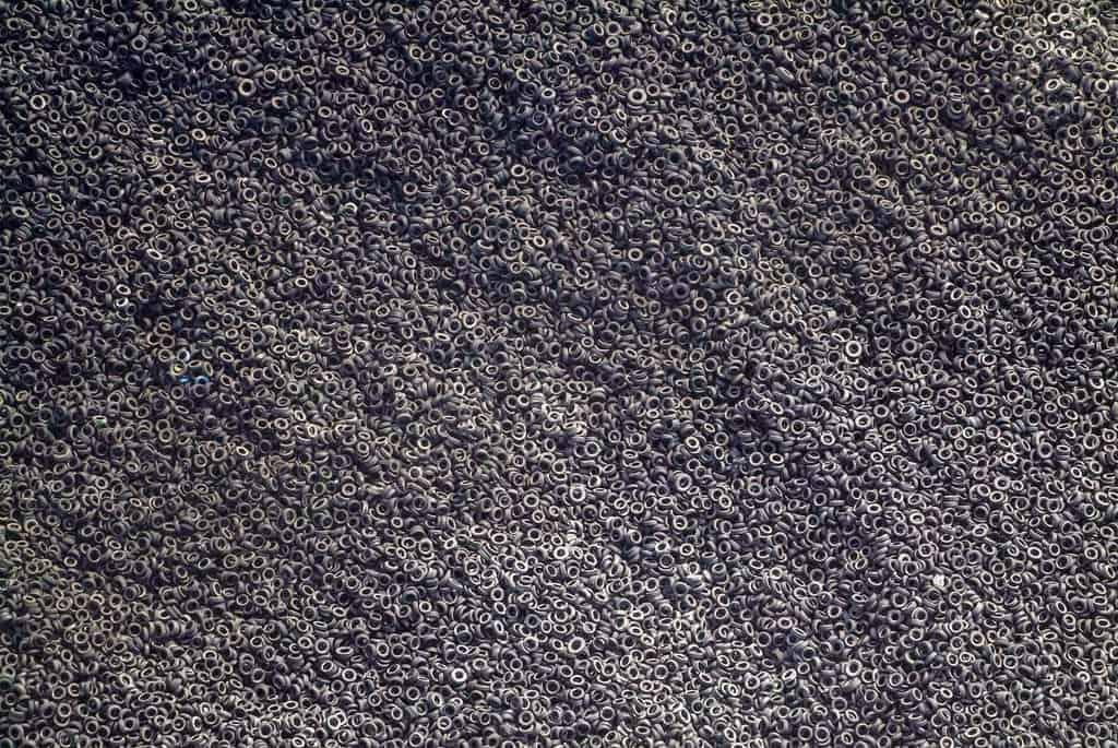 Tire graveyard Kuwait