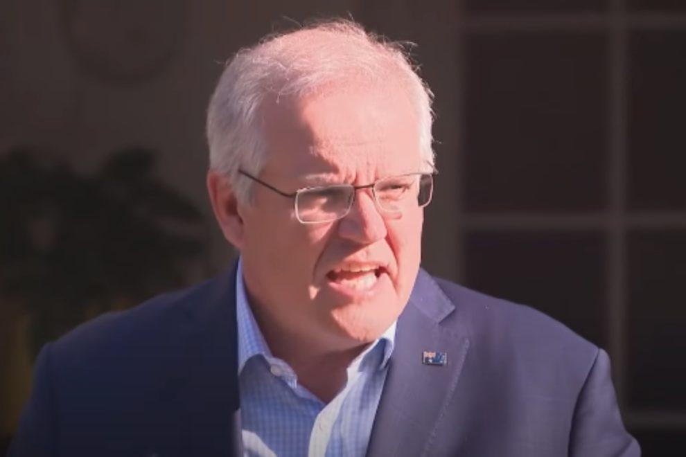 voter support Australian Morrison