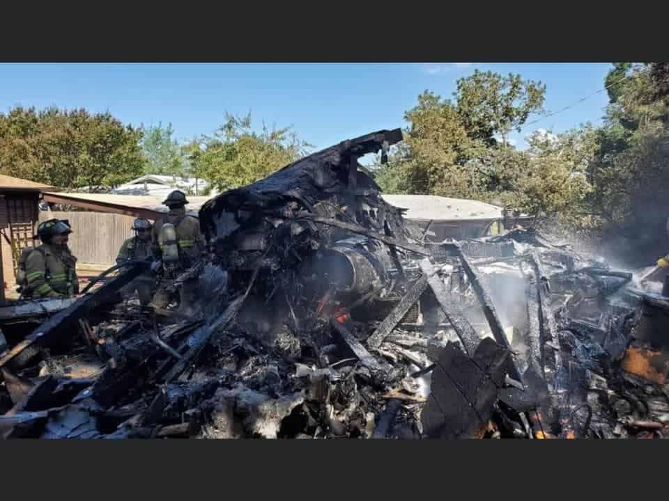 Military plane crash Lake worth texas