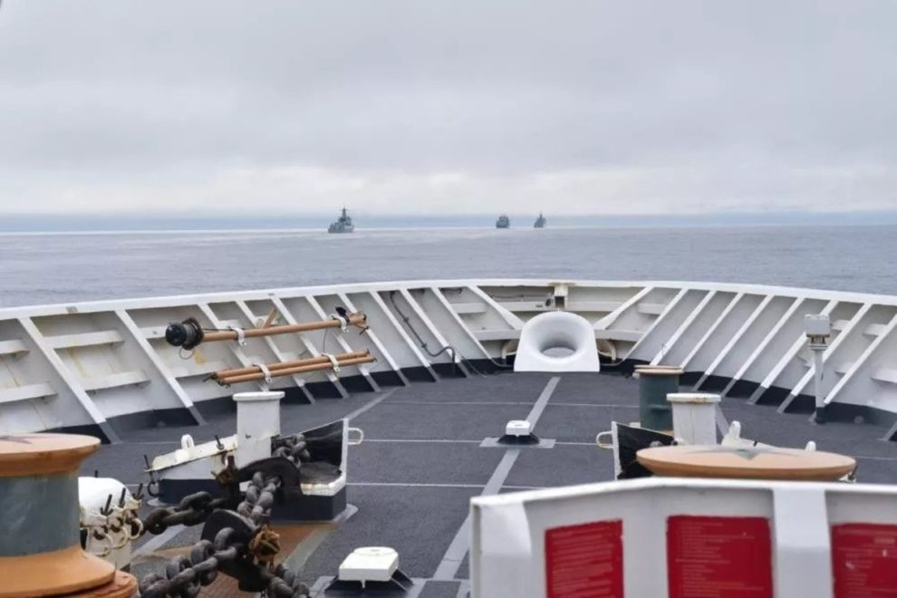 Chinese warships alaska off coast