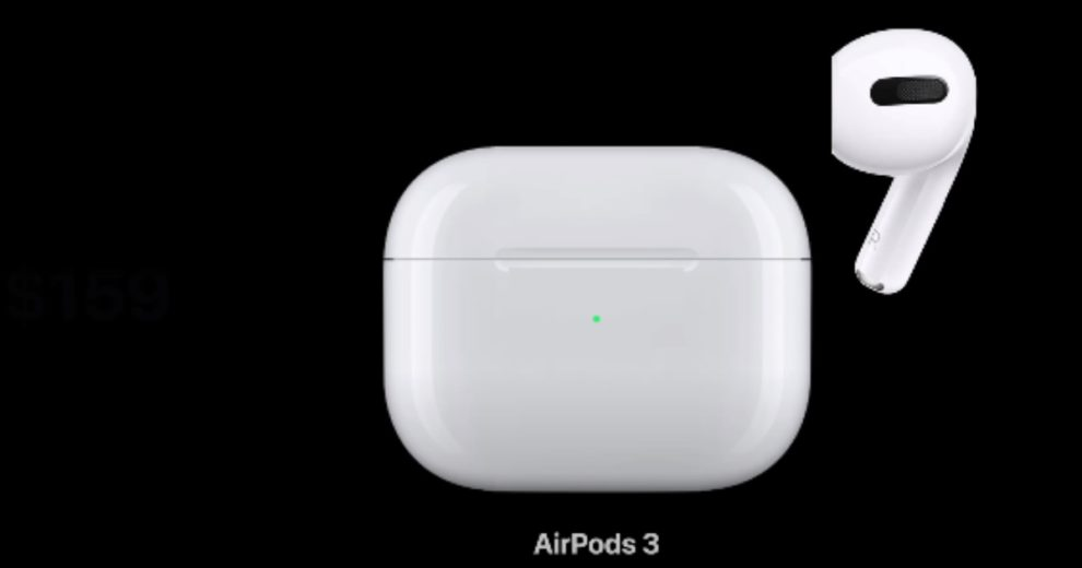 AirPods 3 apple event