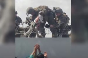 marine baby kabul investigated stage trump