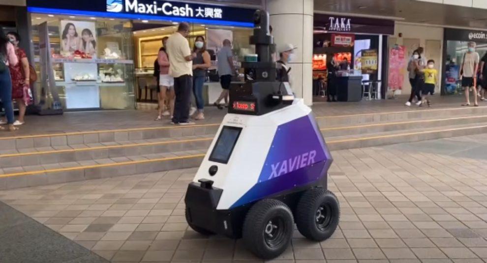 singapore check robot covid