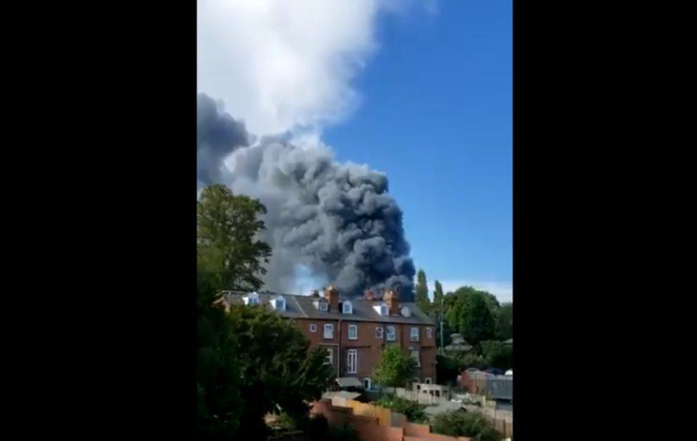 videos Kidderminster fire
