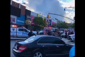 pedestrians struck bronx vehicle