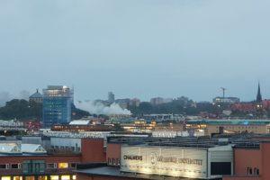 explosion Goteborg apartment building
