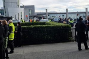 new zealand airport christchurch evacuated bomb