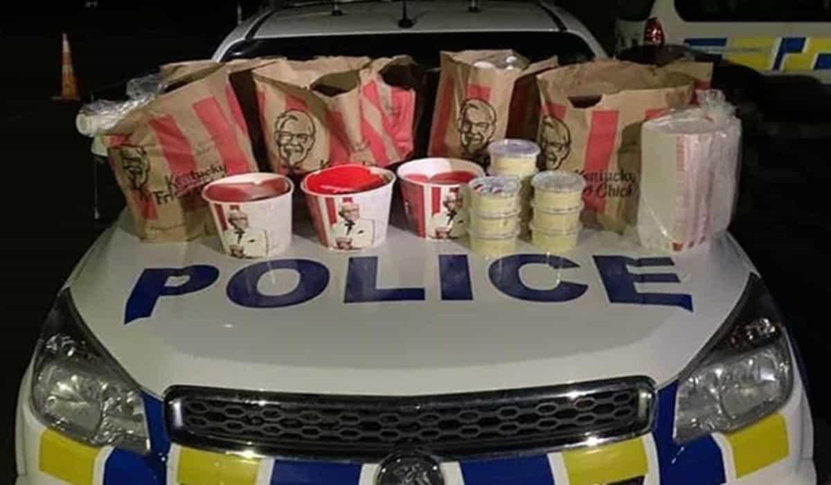 KFC Auckland New Zealand arrested