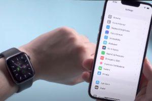 Unlock with Apple Watch iphone 13