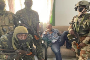 military coup guinea president alpha conde arrested