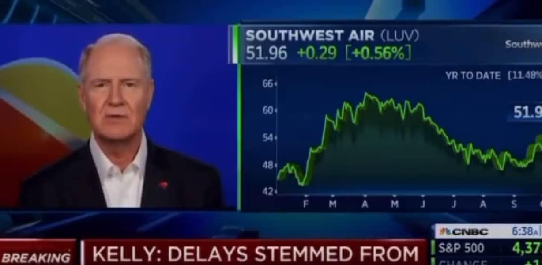 Southwest CEO vaccine mandate cnbc interview