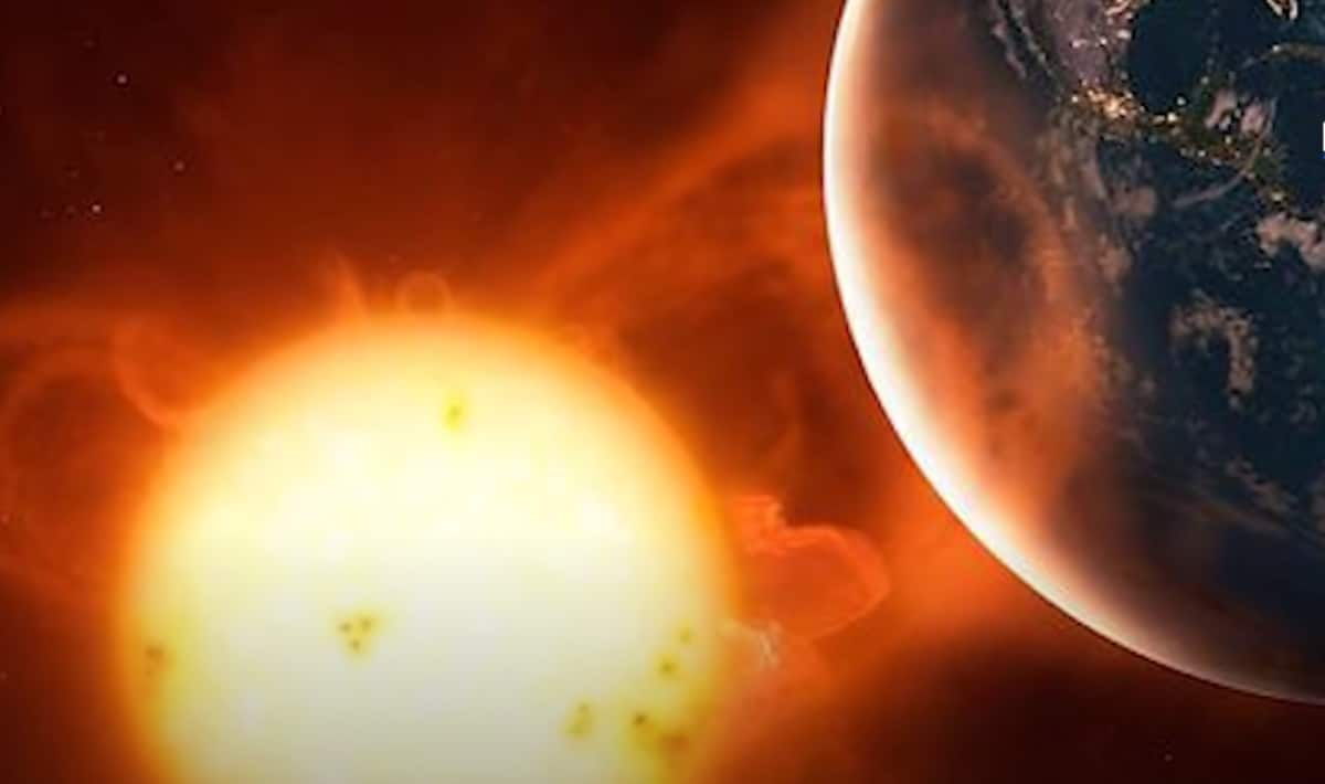 Solar Flare sorm hit earth today