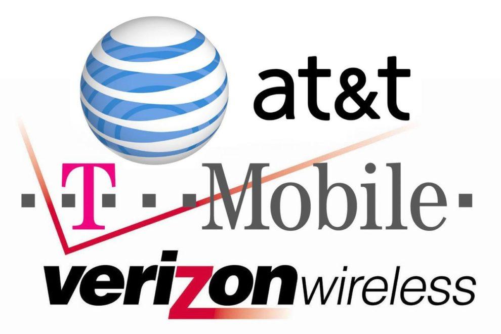 verizon at&t t-mobile down